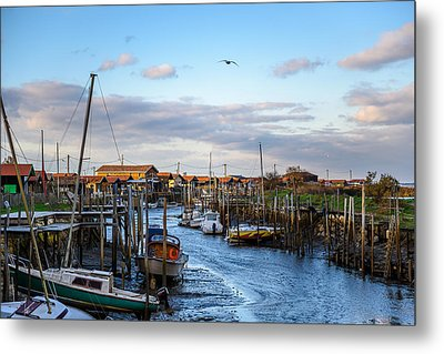 Gujan Mestras I Metal Print by Thierry Bouriat