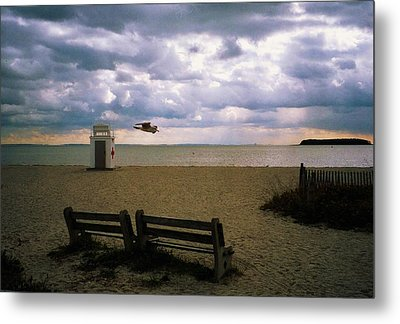 Gulf Beach Metal Print by John Scates