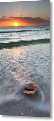 Metal Print featuring the photograph Gulf Coast Sunset  by Patrick Downey