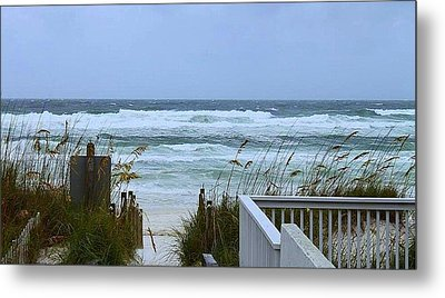 Gulf Coast Waves Metal Print by Debra Forand