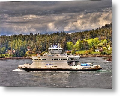 Gulf Islands 7 Metal Print by Lawrence Christopher