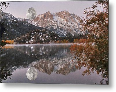 Gull Lake Just Before Sunrise Metal Print by Donna Kennedy