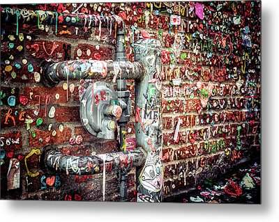 Gum Drop Alley Metal Print by Spencer McDonald