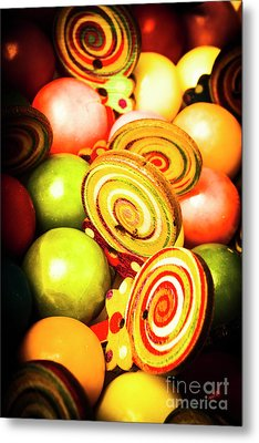 Gumdrops And Candy Pops  Metal Print