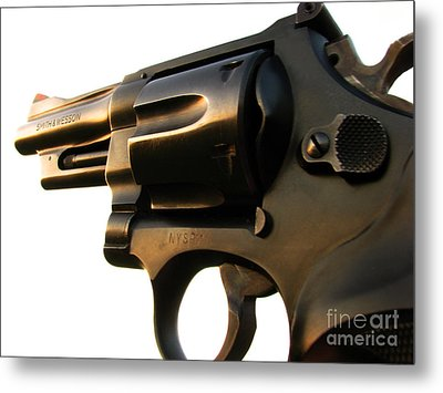 Gun Series Metal Print by Amanda Barcon