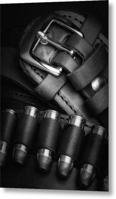 Metal Print featuring the photograph Gunbelt by Tom Mc Nemar