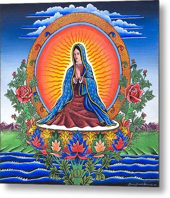 Guru Guadalupe Metal Print