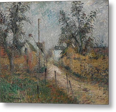 Gustave Loiseau 1865 - 1935 Farm In Normandy Metal Print