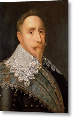 Gustavus Adolphus Of Sweden Metal Print by War Is Hell Store