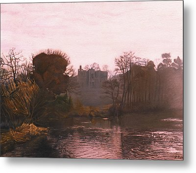Guys Cliffe House Warwick England Metal Print