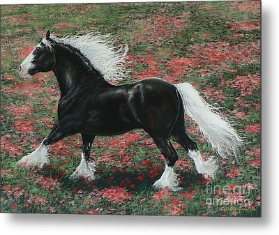 Gypsy Fire Metal Print by Louise Green