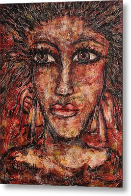 Gypsy Metal Print by Natalie Holland
