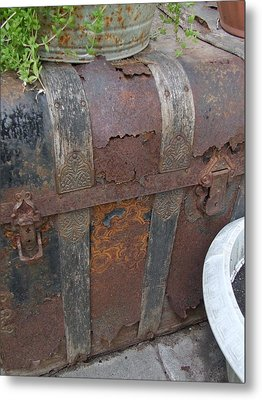 H Trunk Metal Print by Ali Dover