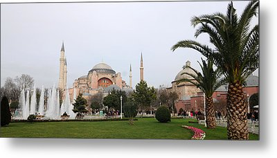 Hagia Sophia Metal Print by Niyazi Ugur Genca