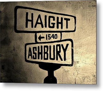 Haight Ashbury Metal Print