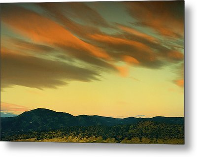 Metal Print featuring the photograph Hailing The Sky by John De Bord