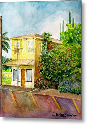 Hairbenders Of Paia Metal Print by Eric Samuelson