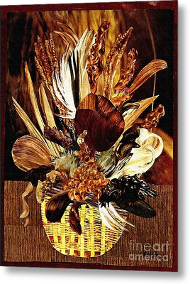 Hairflower Arrangement Metal Print