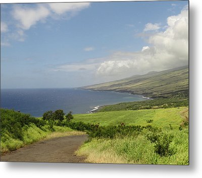Haleakala's Dry Slope, East Maui Metal Print by Feva Fotos