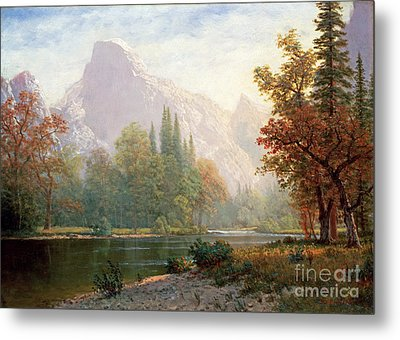 Half Dome Metal Print by Celestial Images