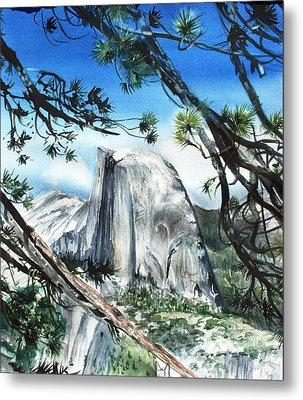 Half Dome In The Late Afternoon Metal Print by Kate Peper