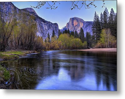 Half Dome Near Sunset Metal Print by Jim Dohms
