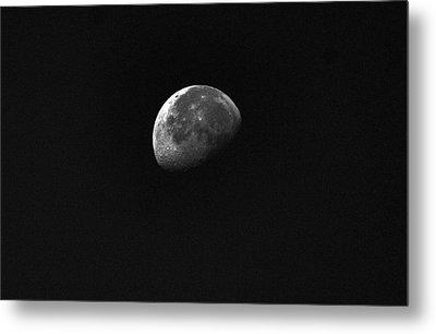 Half Moon Metal Print by Johann Todesengel