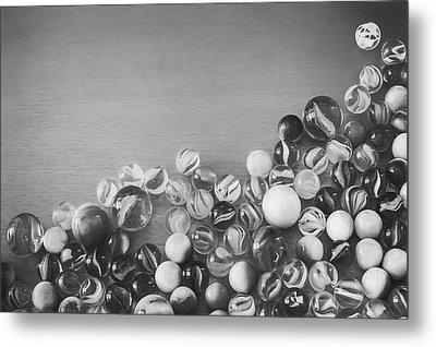 Half My Marbles Metal Print by Scott Norris