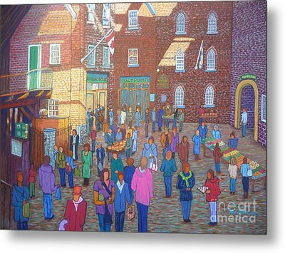 Halifax Farm Market Metal Print by Rae  Smith