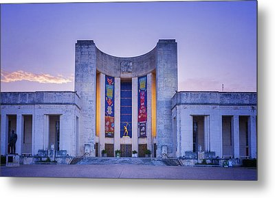 Hall Of State Texas Metal Print