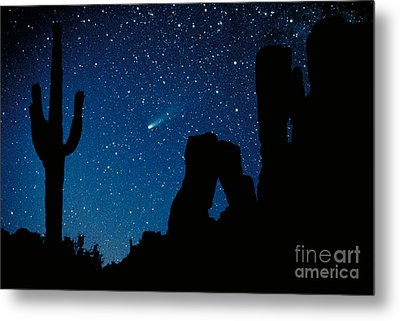 Halley's Comet Metal Print by Frank Zullo