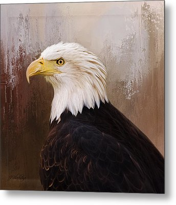 Hallmark Of Courage - Eagle Art Metal Print