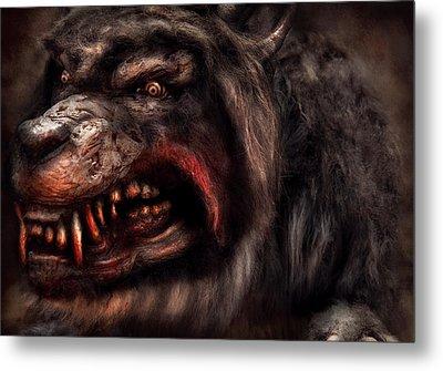 Halloween -  Mad Dog Metal Print by Mike Savad