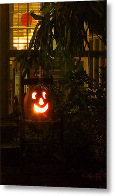 Halloween Beacon Metal Print by Cheri Randolph