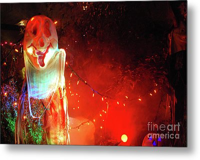 Metal Print featuring the photograph Halloween by Bill Thomson