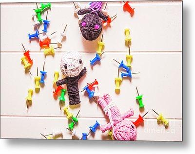 Halloween Monster Voodoo Dolls Metal Print by Jorgo Photography - Wall Art Gallery