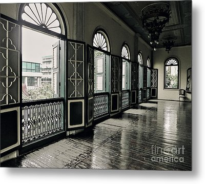 Hallway Metal Print by Charuhas Images