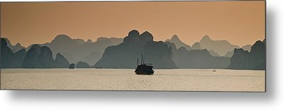 Halong Bay Metal Print by Peter Verdnik