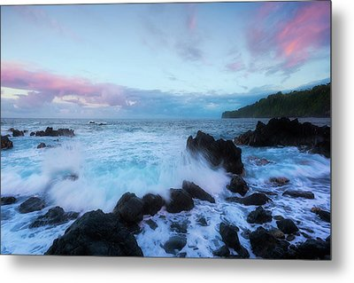 Metal Print featuring the photograph Hamakua Sunset by Ryan Manuel