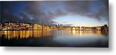 Hamburg Alster Christmas Time Metal Print