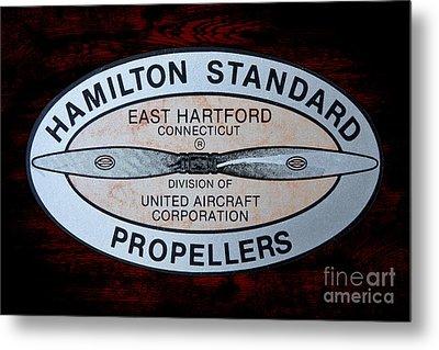 Hamilton Standard East Hartford Metal Print