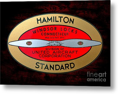 Hamilton Standard Windsor Locks Metal Print