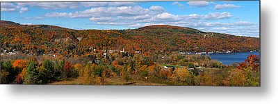 Hammondsport Panorama Metal Print
