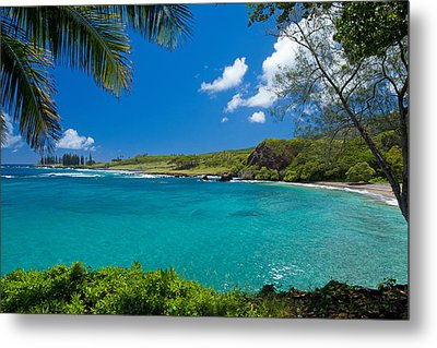 Hamoa Beach Metal Print
