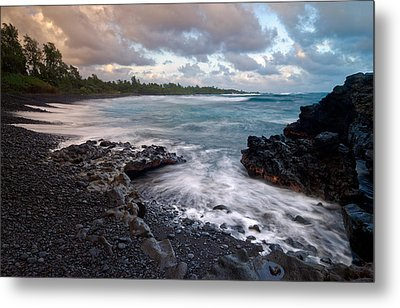 Metal Print featuring the photograph Maui - Hana Bay by Francesco Emanuele Carucci