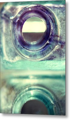 Inkwells Metal Print by Amy Tyler