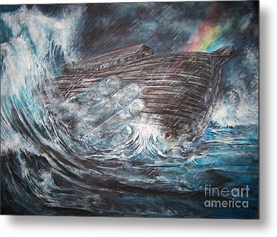 Hand Of God Metal Print