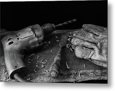Metal Print featuring the photograph Hand Tools 3 by Richard Rizzo