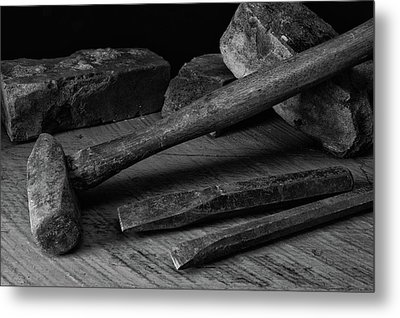 Metal Print featuring the photograph Hand Tools 4 by Richard Rizzo
