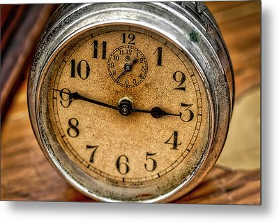 Hands Of Time Metal Print by Irwin Seidman